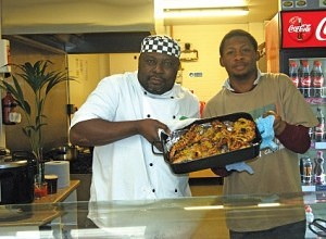 Alan Job of Nkono Bolton Market