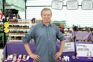 Mark Coleman of Scandalous Beauty Bar Romford Market