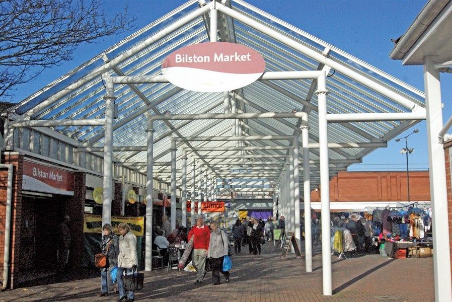 Bustling Bilston Market
