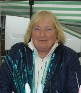 Linda Hyland of'Dippy Daisy Blackbushe Market