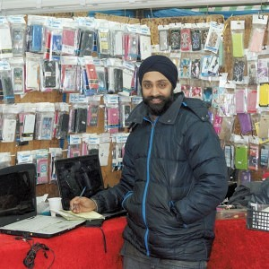 Mr Singh of Phones Clinic Grays Market