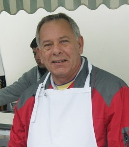 Terry Sampson of Sampson's Cakes Blackbushe Market
