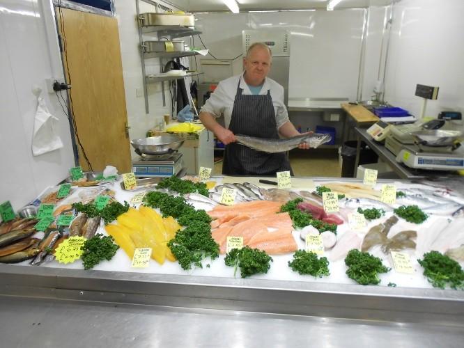 Steve cartridge the fishmonger chester market for Steve s garden market