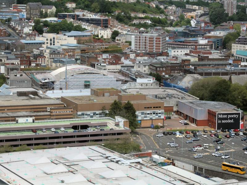 Swansea Market Roof Image 2