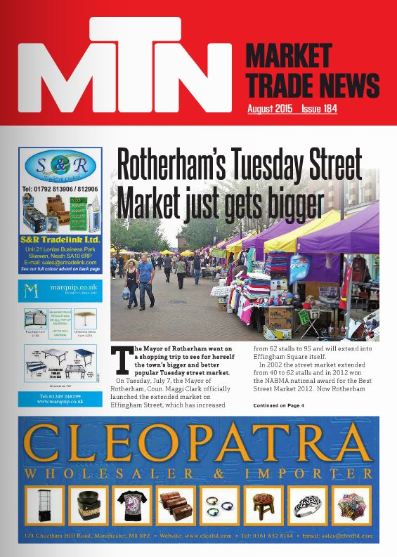 Market Trade News August 2015 issue Front Cover