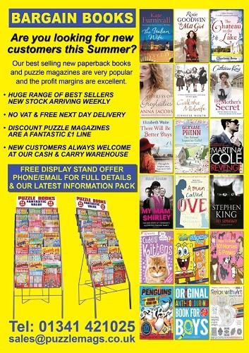 Bargain Books New ad