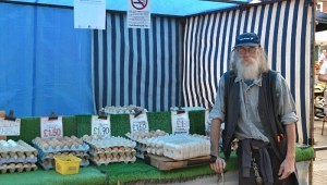Normans family have been selling eggs at Hertford market for over 40 years