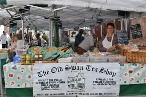 The Old Swan Tea Shop Hertford Market