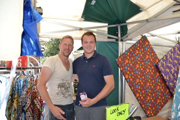 Traders at East Herts Market