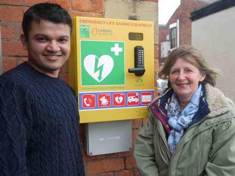 Defibrillator Installed at Leyland Market