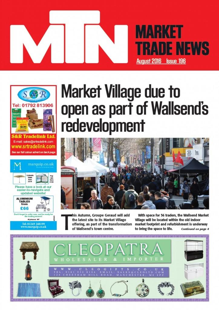 Market Trade News August 2016